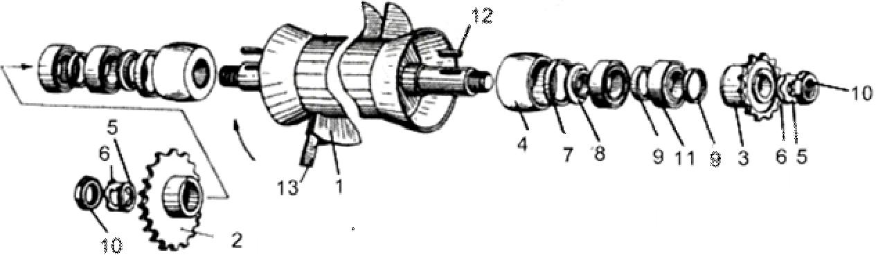 схема Битера