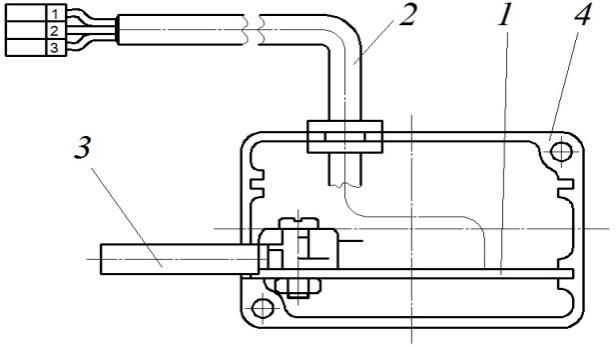 Схема датчик