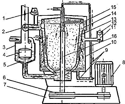Схема пастеризатора ОПД-1М