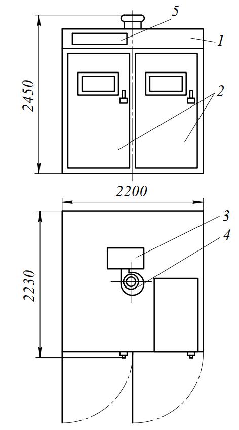 Шкаф окончательной расстойки ИЭТ-76-И1