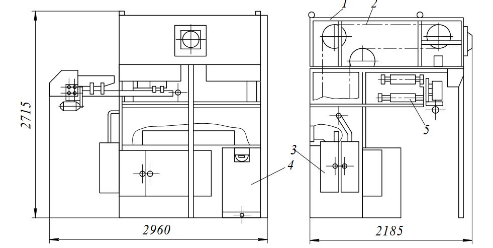 Шкаф предварительной расстойки ИЭТ-75-И1