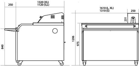 Шкаф предварительной расстойки MB L