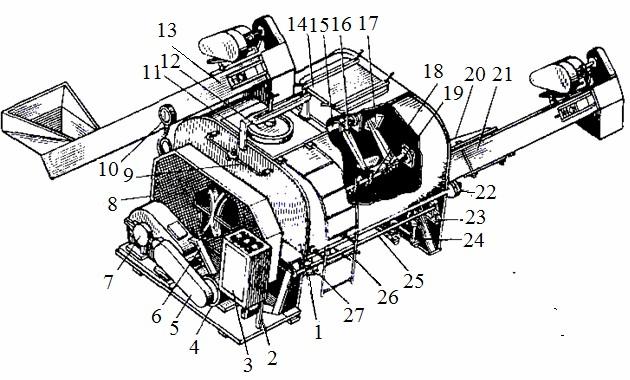 Смеситель-запарник С-12
