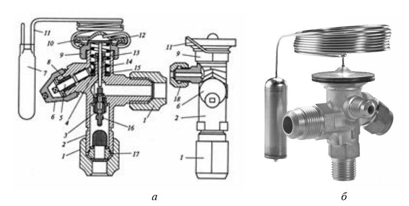 терморегулирующий вентиль с внешним выравниванием
