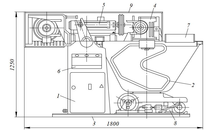 Тестомесильная машина периодического действия А2-ХТМ-330