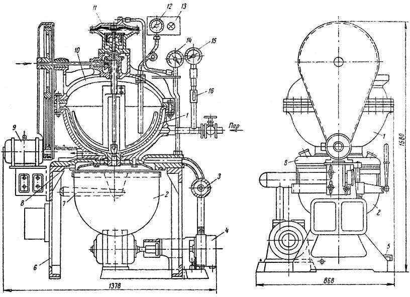 Универсальный варочный вакуум-аппарат М-184