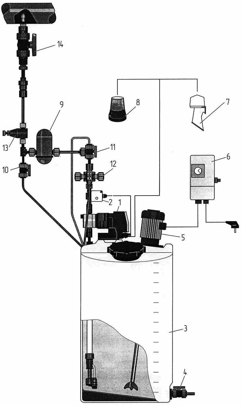 Установка для ионного легирования воды