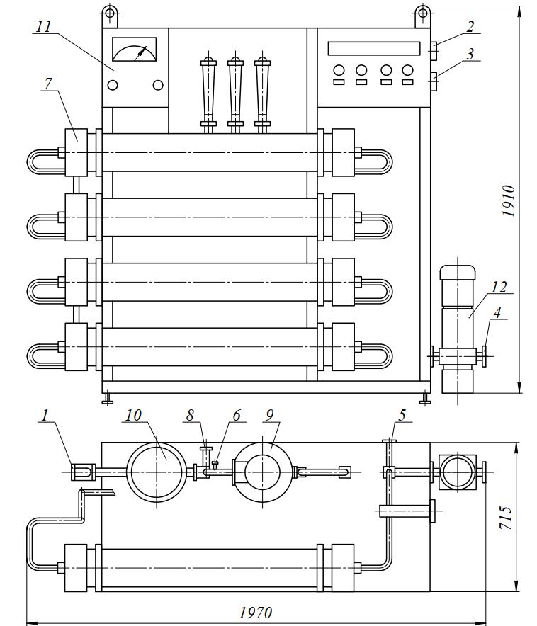 Установка мембранная обратноосмотическая УМО-4000И