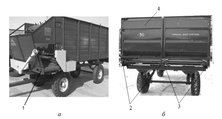 Устройства натяжения лент транспортера кормораздатчика