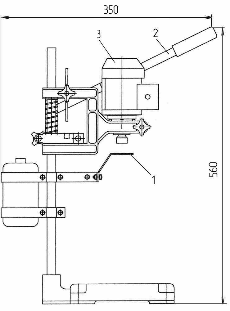 Устройство для укупоривания бутылок УУ-3