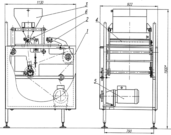 Устройство отливки БМ-3463