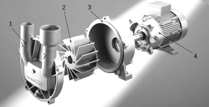 Вакуумный насос агрегата серии RPA