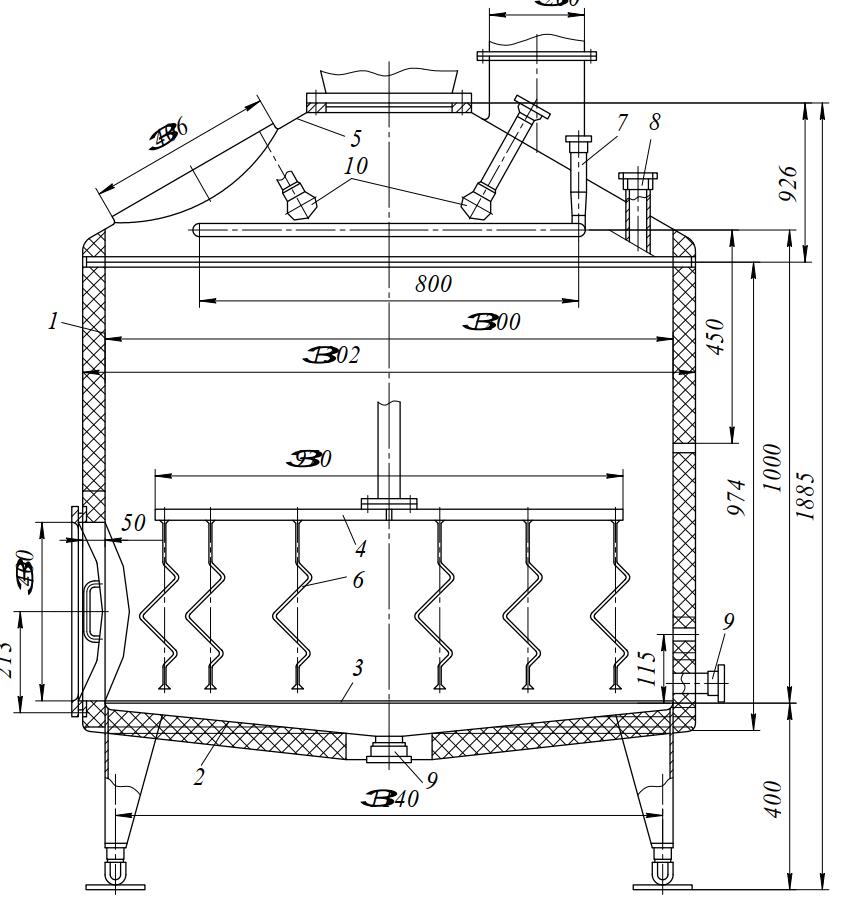 Заторно-фильтрационный аппарат