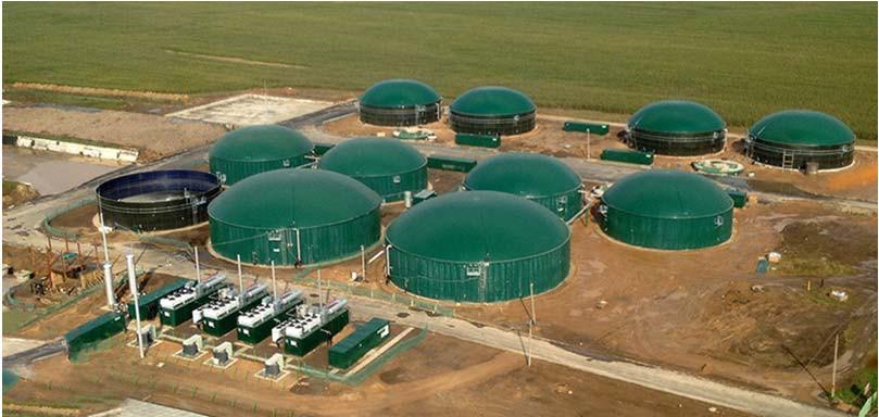 Биогазовая установка СПК