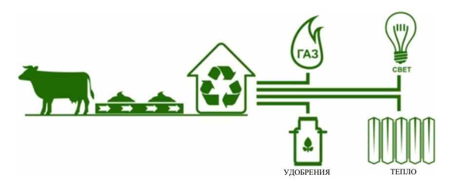 Достоинства биогазовых технологий