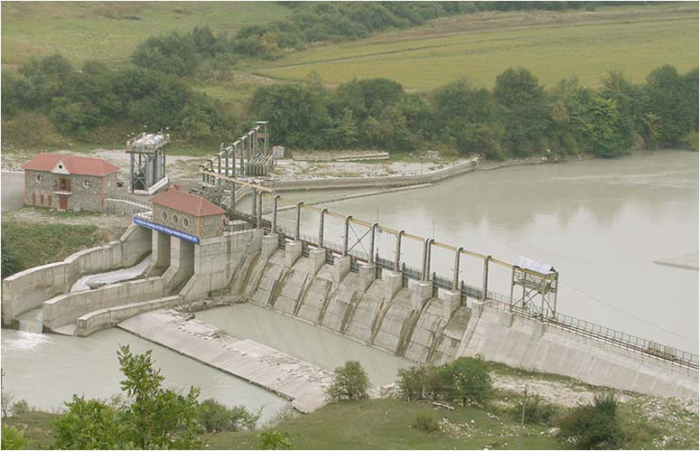 головной узел малой ГЭС