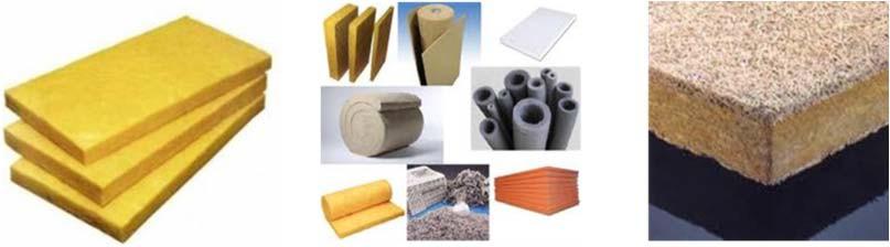 неорганические теплоизоляционные материалы