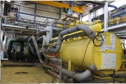 оборудование бинарного блока ГеоТЭС