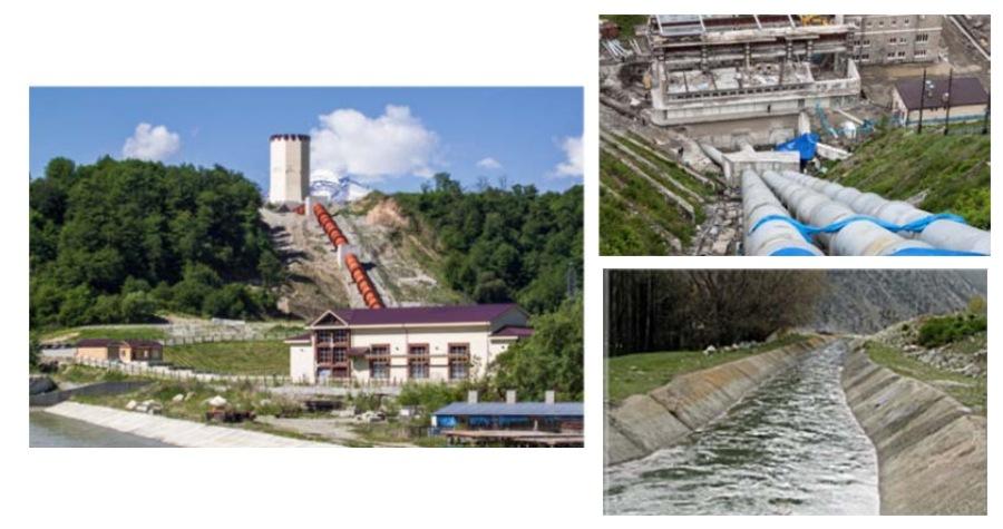 оборудование деривационной ГЭС