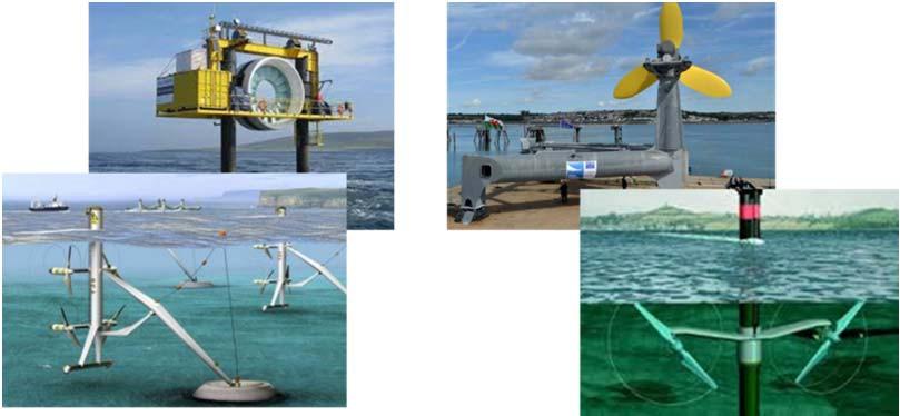 оборудование для использования энергии приливов и отливов, морских течений