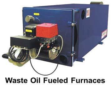 Оборудование для сжигания отработанных масел