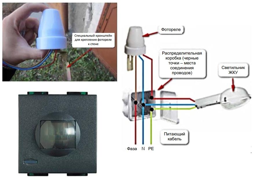 Системы дискретного управления освещением