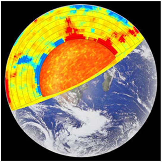 Термограмма земной коры