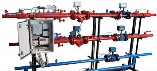 установка датчиков расхода в теплотехнических системах