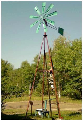 ветронасосная установка