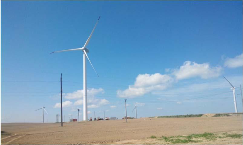 ветропарк мощностью 9 МВт
