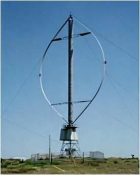 ВЭУ на основе роторов Дарье