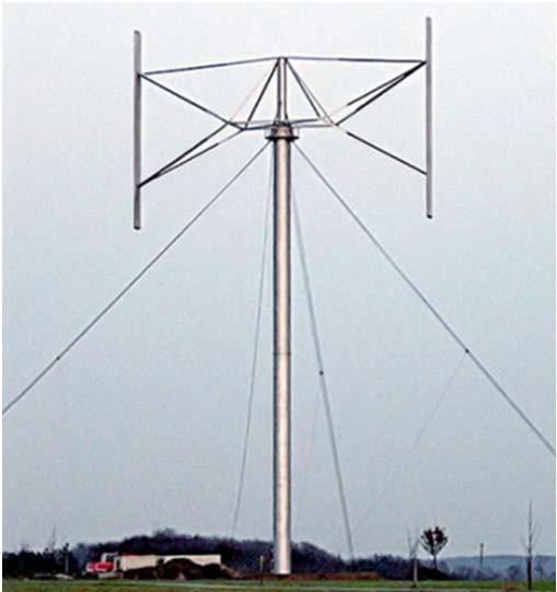 ВЭУ на основе турбины Гиромила