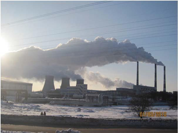 Загрязнение окружающей среды отходящими газами
