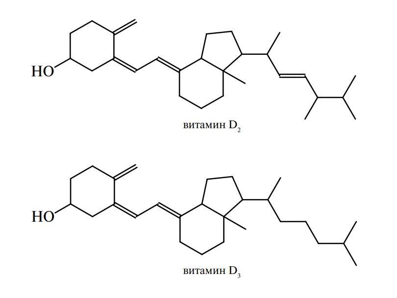 Витамины группы D