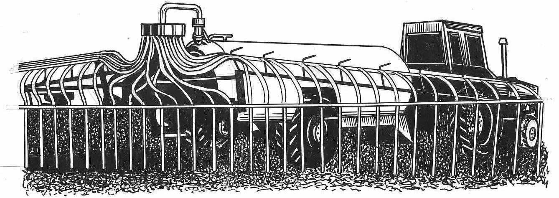 Машина для поверхностного внесения жидких органических удобрений