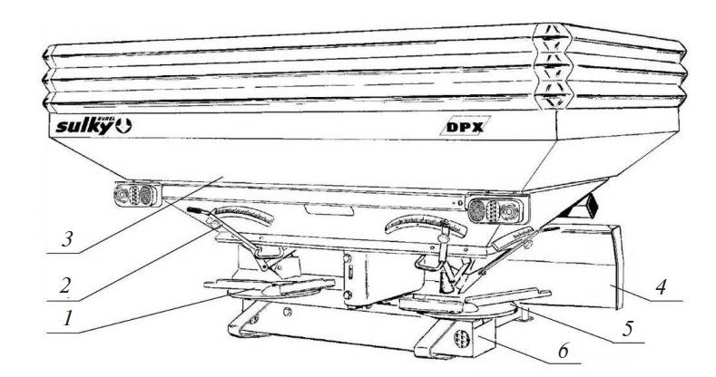 рассеиватель Sulky DPX Prima