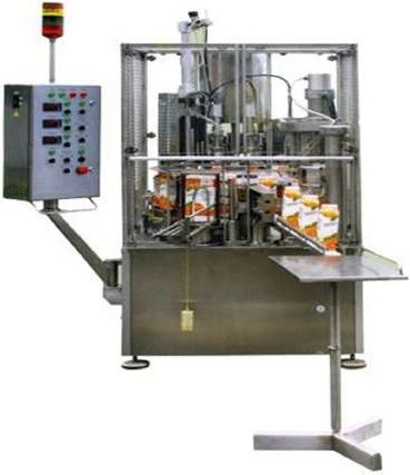 Автомат фасовки розлива молока в пакеты