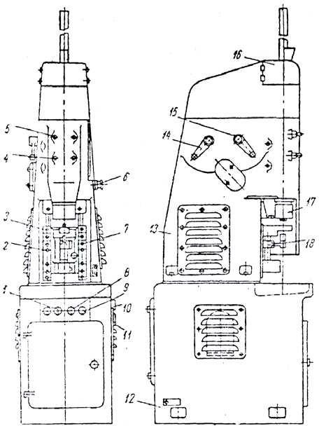 Автомат модели МФ-142 для отрезки заготовок сверл