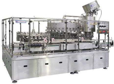 Фасовочно-укупорочные машины для розлива молока в стеклянные бутылки