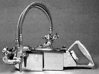 машина для автоматической газовой резки модели IK-92 PUMA
