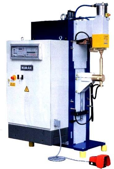 машина для точечной сварки фирмы «NIMAK» модели РМР 6-2/50
