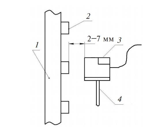 Монтажная схема датчика скорости