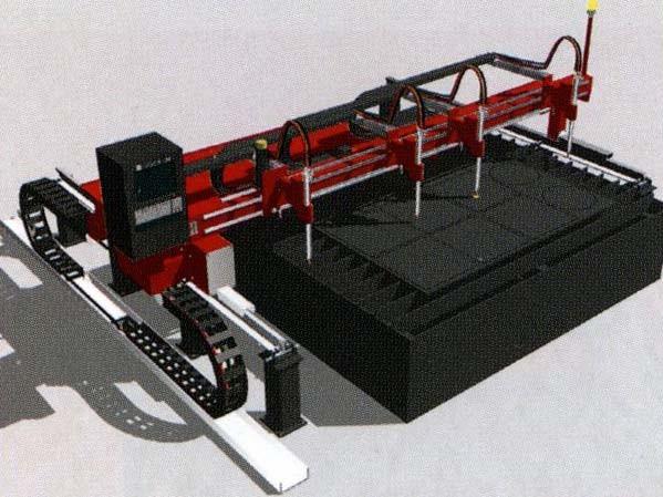 Портативная машина для плазменной и газовой резки с односторонним приводом NANOGRAPH