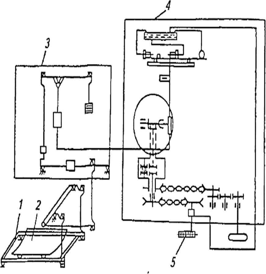 Принципиальная схема конвейерных весов