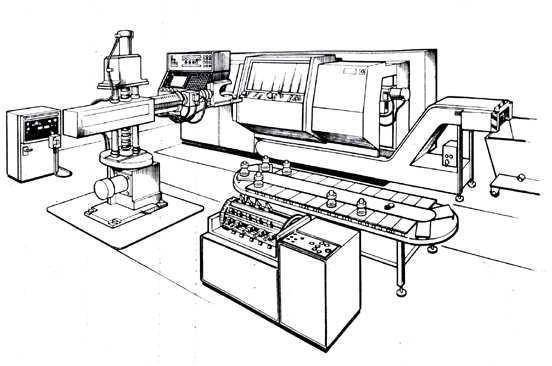 Роботизированный технологический комплекс на базе станка 1720ПФ30