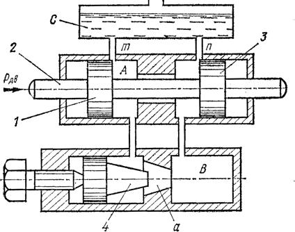Схема гидравлического демпфера