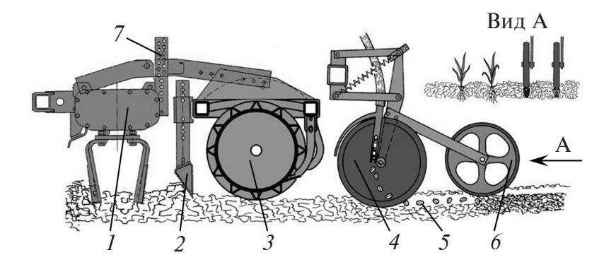 Схема работы агрегата АПП-6А