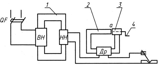 Схема сварочного трансформатора с отдельным дросселем