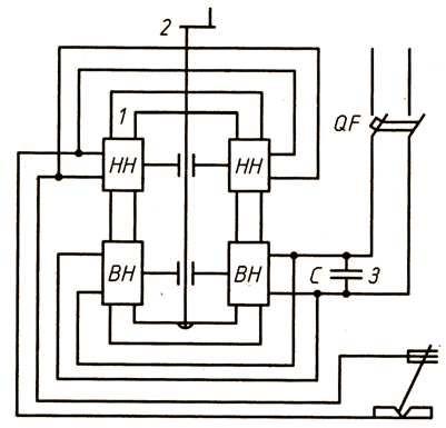 Схема сварочного трансформатора с повышенным магнитным рассеянием