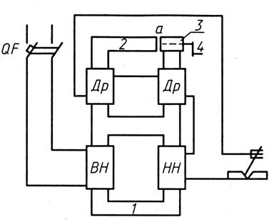 Схема сварочного трансформатора со встроенным дросселем